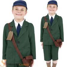 Disfraces de niño de color principal verde de poliéster