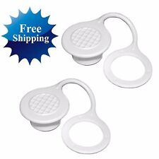 IGLOO COOLER STANDARD DRAIN PLUG CAP 2-Pk Triple Snap Replacement Part Parts Kit