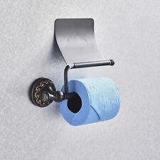 Toilet Paper Holder Bathroom Kitchen Tissue Paper Roll Towel Holder Oil Rubbed