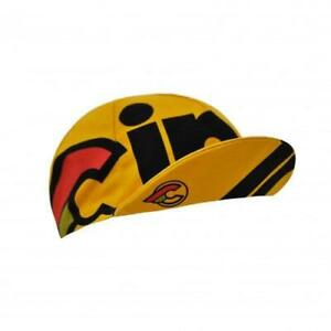 Nemo Tig Cinelli Cycling Cap in Yellow - Made in Italy