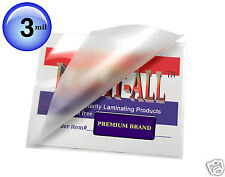 ( 500 pc ) Hot 3 Mil LAM-IT-ALL Laminating Pouches for 4x6 Photos 4-1/4 x 6-1/4