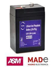 Batería Litio Hierro Fosfato 6V 4.5Ah T1 - NX - LiFePO4