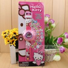 CHILD'S WATCH  PROJECTOR DIGITAL ' HELLO KITTY 20 IMAGES AUSSIE SELLER FREE POST