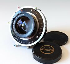 "Schneider Gold Dot Dagor Mc 355mm (14"") f/8 Switzerland View Camera"