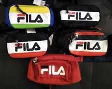 New Fila Fanny Pack, Waist, Belt Bag, Multi-Color, Black, Red or Red White Navy