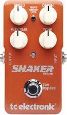 Tc Electronic Shaker Vibrato Vibrato Effects Pedal, New!