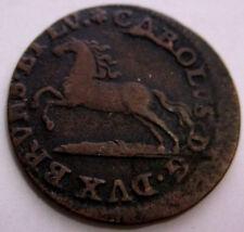 GERMAN STATES 1760 1 PFENNIG HORSE