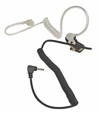 Clear Ear Bud Listen Only Headset with 2.5 mm Audio Plug