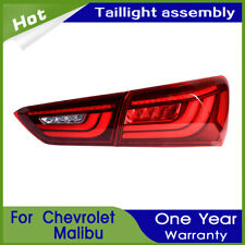For Chevrolet Malibu 2016-2018 Red LED Rear lights Car LED Taillights Assembly