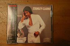 "Stanley Clarke ""Let Me Know You"" JAPAN CD 35.8P-9 3500yen Gold Face OBI"
