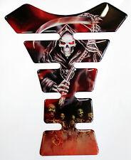 Grim Reaper Red Original 3D Resin Gel Tank Pad