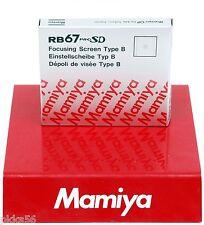 Mamiya RB 67 PRO SD type B FOCUSING SCREEN (rangefinder spot, HORIZONTAL split)