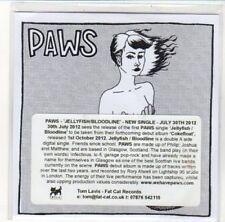 (DK306) Paws, Jellyfish / Bloodline - 2012 DJ CD