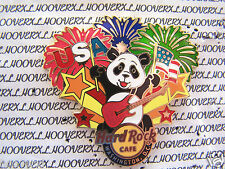 2013 HARD ROCK CAFE WASHINGTON DC PANDA PRIDE/4TH OF JULY-FIREWORKS/USA FLAG PIN