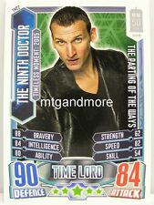 #TM22 The Ninth Doctor - Alien Attax Doctor Who - 50th Anni