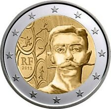 FRANCE 2 EURO COIN 2013 - PIERRE DE COUBERTIN *** UNC ***