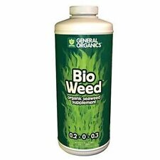 General Hydroponics Bio Weed 1 Quart qt 32oz - organic nutrient supplement