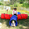 Kids 4-way Play Tunnel Tent Children Pop-up Adventure Tube Pets Crawl Hide Toy