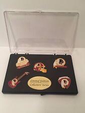 Washington Redskins Football Pin Set *Limited Edition Collectors Series NEW