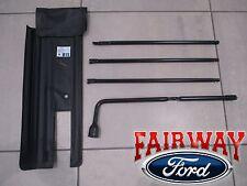 08 thru 16 Super Duty F250 F350 OEM Ford Jack Handle & Lug Wrench Tool Roll Kit