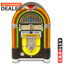 NEW Crosley CR1703A-CH Classic Mini iJuke Tabletop Bluetooth Jukebox - Cherry
