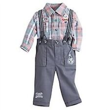 Disney Store White Rabbit Deluxe Baby Boy Outfit Alice in Wonderland 6/9 Months