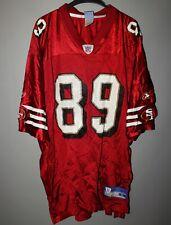 NFL SAN FRANCISCO 49 ERS FOOTBALL JERSEY SHIRT #89 TAI STREETS REEBOK