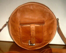 Leather Round Shape Women Cross body Shoulder Bag Handbag Satchel Purse Tote