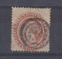 Newfoundland QV 1865 12c Red Brown SG28 Fine Used J7796