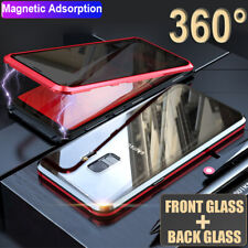 Privacy Anti-peeping Magnetic Double Glass Case Cover for Samsung Galaxy S8 S9