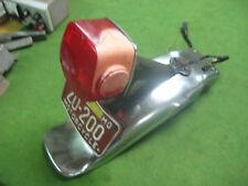 Original 1975 Kawasaki KZ400 KZ 400 Rear Fender With Tailight