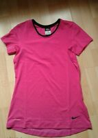 NEW ladies Nike Dri fit women's Top T-shirt pink  gym training sports Size SMALL
