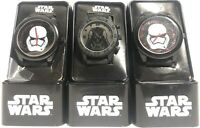 LOT OF 3 Star Wars Darth Vader & Storm Trooper Watches *NEEDS BATTERIES*  *READ*