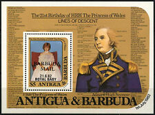 Barbuda 1982 SG#MS635 Royal Baby MNH M/S Sheet #D42329
