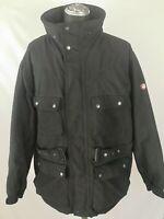 Wellensteyn Motoro Mens Black Motorbike Biker Hooded Parka jacket Coat size XXL