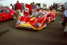 PHOTO  PATRICK STEIGER'S IMMACULATE FERRARI 512M WAS GETTING A LOT OF ATTENTION