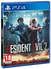 RESIDENT EVIL 2 PS4 VIDEOGIOCO PLAY STATION 4 COPERTINA EU ITALIANO GIOCO NUOVO