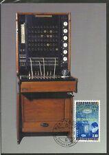 LIECHTENSTEIN/ 100 Jahre Telefon MiNr 1189 auf  Maxicard Nr 165