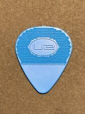 U2 Authentic Tour Guitar Pick Blue Bono Edge in Near Mint Condition