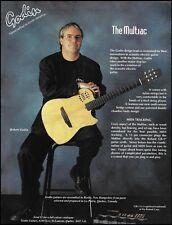 Robert Godin Presents The Multiac guitar 1994 advertisement 8 x 11 ad print