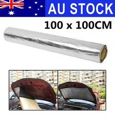 AU 100cm x 100cm Car Turbo Heat Shield Mat Exhaust Insulation Muffler Fiberglass