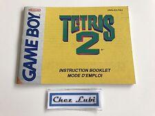 Notice - Tetris 2 - Nintendo Game Boy - PAL FAH