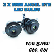 *24W BMW E60 E61 LCI ANGEL EYES UPGRADE HALO RING MARKER LED 6000K 5 SERIE XENON
