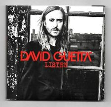 DOUBLE 2 CD / DAVID GUETTA - LISTEN / 18 TITRES ALBUM DIGIPACK 2014