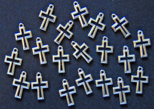 20 PIECES Cross Charms Pendants Christian Jewelry Making Arts & Crafts Project