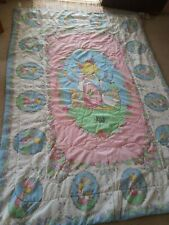 Precious Moments reversible twin comforter excellent condition vintage made usa