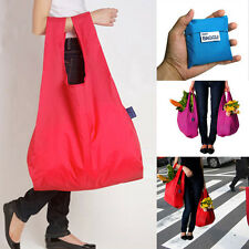 Hot Lady Foldable Recycle Bag Eco Reusable Shopping Grocery Beach Laundry Bags