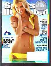 2010 Brooklyn Decker Sports Illustrated Swimsuit Issue NO LABEL WB