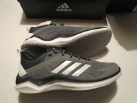 NIB adidas Speed Trainer 4 Men's Shoes Several Sizes CG5133 Grey Baseball