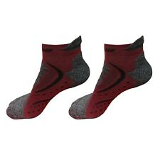 2 Pairs Mens Low Cut Ankle Athletic Cotton Running Sport No Show Cushioned Socks